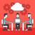 negócio · pessoas · cog · roda · equipe · trabalho - foto stock © rastudio