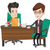 ビジネス · 協力 · 2 · ビジネスマン · 現代 · 実例 - ストックフォト © rastudio