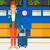binnenkant · paspoort · illustratie · achtergrond · kunst · reizen - stockfoto © rastudio