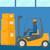 ipari · targonca · rakomány · dobozok · építkezés · munka - stock fotó © rastudio