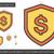 secure money line icon stock photo © rastudio