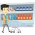 vector · lege · supermarkt · winkelwagen · geïsoleerd · witte - stockfoto © rastudio