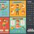 healthy food flat design infographic template stock photo © rastudio