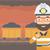 podziemnych · tunelu · wydobycie · koszyka · pełny · węgiel - zdjęcia stock © rastudio