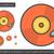 gramofon · vonal · ikon · háló · mobil · infografika - stock fotó © rastudio