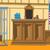 cartoon background of courtroom stock photo © rastudio