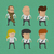 group of business men women charactor eps10 vector format stock photo © ratch0013