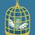 dollar in golden bird cage eps10 vector format stock photo © ratch0013