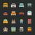 mentő · autó · vektor · ikon · piktogram · illusztráció - stock fotó © ratch0013