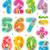 primavera · verão · alfabeto · conjunto · cartas · colorido - foto stock © ratselmeister