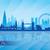 Londres · Angleterre · Skyline · détaillée · vecteur · silhouette - photo stock © ray_of_light