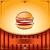 hamburger · frame · illustratie · augurken · ontwerp - stockfoto © ray_of_light