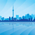 Toronto · Canadá · vector · silueta · negocios - foto stock © ray_of_light