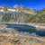 the neouvielle peak and the lake cap de long stock photo © razvanphotography
