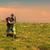 sétál · zöld · fű · testmozgás · kint · férfi · zöld - stock fotó © razvanphotography