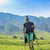 Man Hiking in Green Mountains stock photo © RazvanPhotography