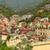 colorido · edificios · Italia · ciudad · verano · Windows - foto stock © razvanphotography
