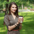 Young Woman with a Coffee Cup in Park stock photo © RazvanPhotography