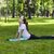 girl stretching in a green park stock photo © razvanphotography