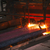 quente · aço · fogo · metal · laranja · fumar - foto stock © razvanphotos