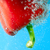 red pepper between bubbles stock photo © razvanphotos