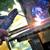 溶接 · クローズアップ · 明るい · 光 · 手 · 建物 - ストックフォト © razvanphotos