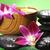 estância · termal · flor · madeira · luz · verde · relaxar - foto stock © razvanphotos