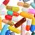 sok · színes · tabletták · izolált · fehér · háttér - stock fotó © razvanphotos