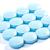 blue pills on white background stock photo © razvanphotos