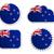 Новая · Зеландия · флаг · Этикетки · бумаги · знак · кнопки - Сток-фото © rbiedermann