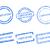 certificado · ícone · vetor · estilo · símbolo · azul - foto stock © rbiedermann
