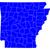 アーカンソー州 · ベクトル · 色 · 地図 · テクスチャ · 市 - ストックフォト © rbiedermann