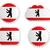 berlin flag labels stock photo © rbiedermann