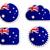 Australië · iconen · vector · ingesteld · gestileerde - stockfoto © rbiedermann