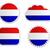 Нидерланды · флаг · Этикетки · бумаги · дизайна · знак - Сток-фото © rbiedermann