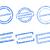vecteur · timbres · couleur · bleu - photo stock © rbiedermann