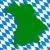 harita · bayrak · mavi · seyahat · hat · afiş - stok fotoğraf © rbiedermann