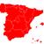 térkép · Spanyolország · részletes · illusztráció · zászló · eps10 - stock fotó © rbiedermann