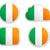 Ierland · vlag · papier · ontwerp · teken - stockfoto © rbiedermann