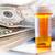 gyógyszer · üvegek · pénz · boglya · húsz · dollár · bankjegyek - stock fotó © rcarner