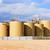 raktár · olaj · helyszín · tart · égbolt · energia - stock fotó © rcarner