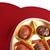 cukorka · valentin · nap · édes · piros · izolált · fehér - stock fotó © rcarner