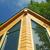 casa · topo · blue · sky · casa · janela · verão - foto stock © RedDaxLuma