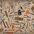 vintage tools mix collage stock photo © reddaxluma
