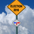 election 2016 left or right ahead sign stock photo © RedDaxLuma