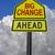 big change ahead roadsign stock photo © reddaxluma