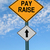 pay raise ahead roadsign stock photo © RedDaxLuma