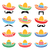 mexican sombrero hat with moustache or mustache icons stock photo © redkoala