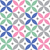 geometric seamless pattern in pastel colours   inspired by spanish and portuguese tiles design stock photo © redkoala