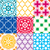 laranja · flores · sem · costura · textura · abstrato · padrão - foto stock © redkoala